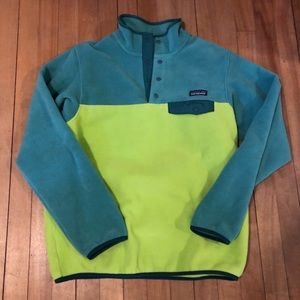 Patagonia pull over fleece M